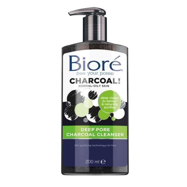 Bioré Deep Pore Charcoal Cleanser 200 ml