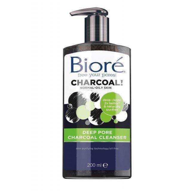 Bioré Deep Pore Charcoal Cleanser 200 ml