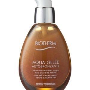 Biotherm Aqua Gelée Autobronzante Itseruskettava Ja Kosteuttava Seerumi Kasvoille 50 ml