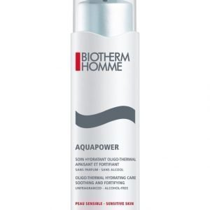 Biotherm Aquapower Cream Sensitive Kosteusvoide Herkälle Iholle