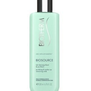 Biotherm Biosource Cleansing Milk Normal Skin 200ml