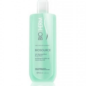 Biotherm Biosource Cleansing Milk Normal Skin 400ml BIG SIZE