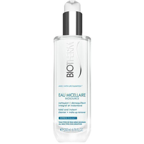 Biotherm Biosource Eau Micellaire 2-in-1 Cleanser + Makeup Remover
