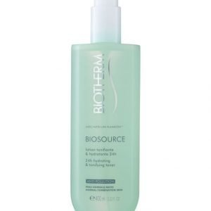 Biotherm Biosource Invigorating Toning Lotion Kasvovesi Normaali Ja Sekaiholle 400 ml