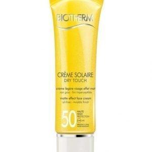 Biotherm Crème Solaire Dry Touch Spf 50 50 ml Aurinkosuojavoide Kasvoille
