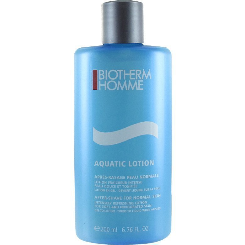 Biotherm Homme Aquatic Lotion After Shave for Normal Skin 200ml