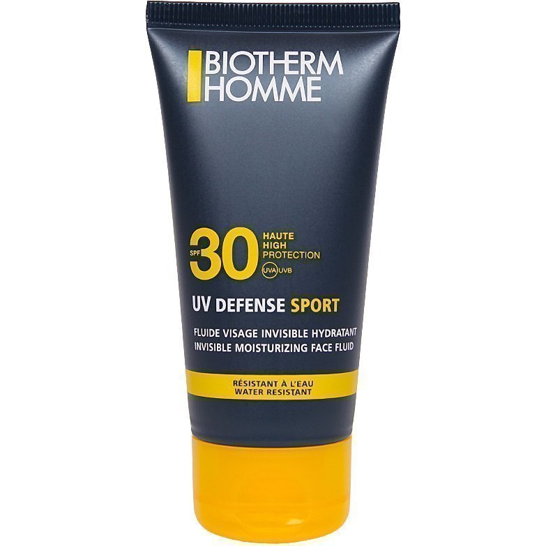 Biotherm Homme UV Defense Sport Invisible Moisturizing Face Fluid SPF30 50ml