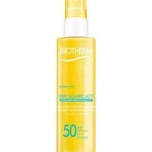Biotherm Spray Solaire Lacte Aurinkosuojasuihke Vartalolle Spf 50 200 ml