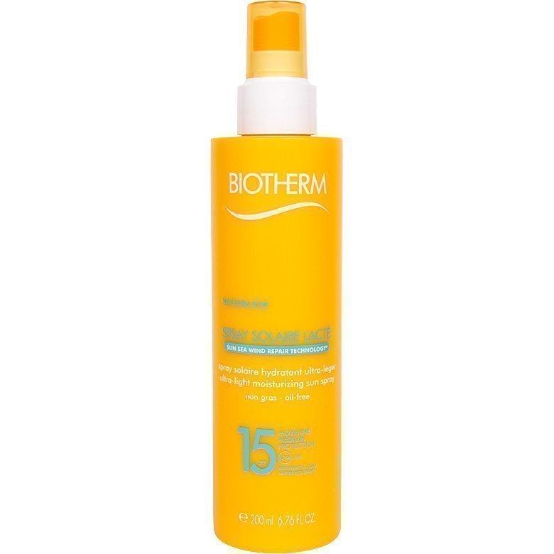 Biotherm Spray Solarie LactéLight Moisturizing Sun Spray SPF15 200ml