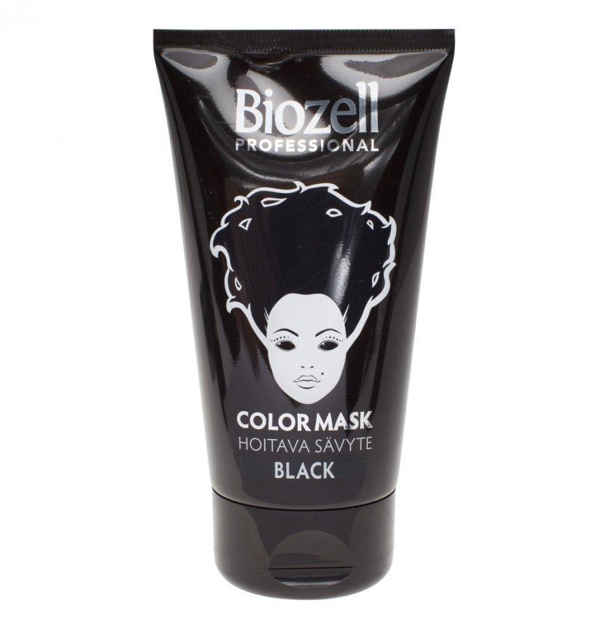 Biozell Color Mask Black Hiussävyte 150 Ml