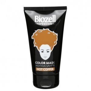 Biozell Color Mask Hot Copper Hiussävyte 150 Ml