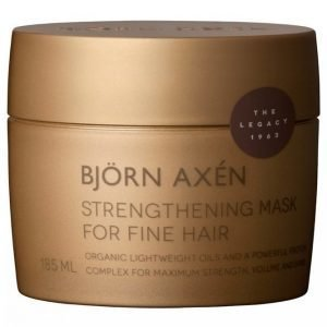 Björn Axén The Legacy 1963 Strengthening Mask For Fine Hair 185 Ml