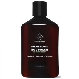 Blind Barber Lemongrass Tea Shampoo And Body Wash 350 Ml