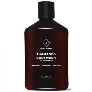 Blind Barber Lemongrass Tea Shampoo And Body Wash 350 Ml