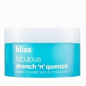 Bliss Fabulous Drench N'quench Cream Kasvonaamio