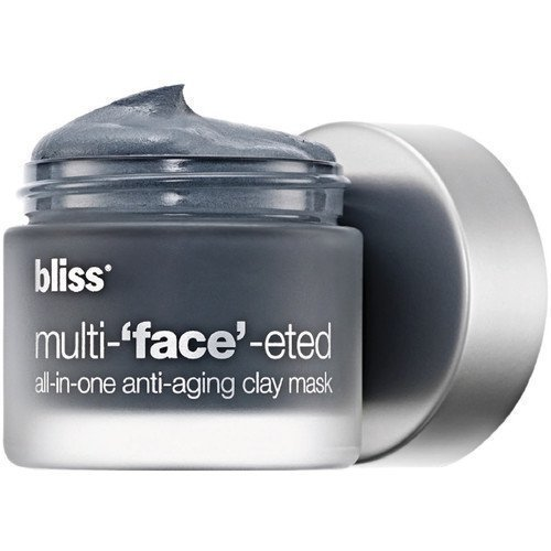 Bliss Multi 'Face' Eted All-In-One Anti-Aging Clay Mask 3 yksittäispakattua naamiota