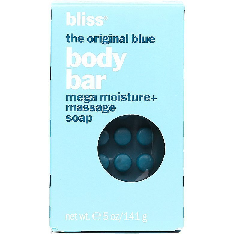 Bliss Original Blue Body Bar Massage Soap 141g