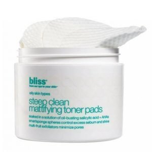 Bliss Steep Clean Mattifying Pads Kasvovesipyyhe