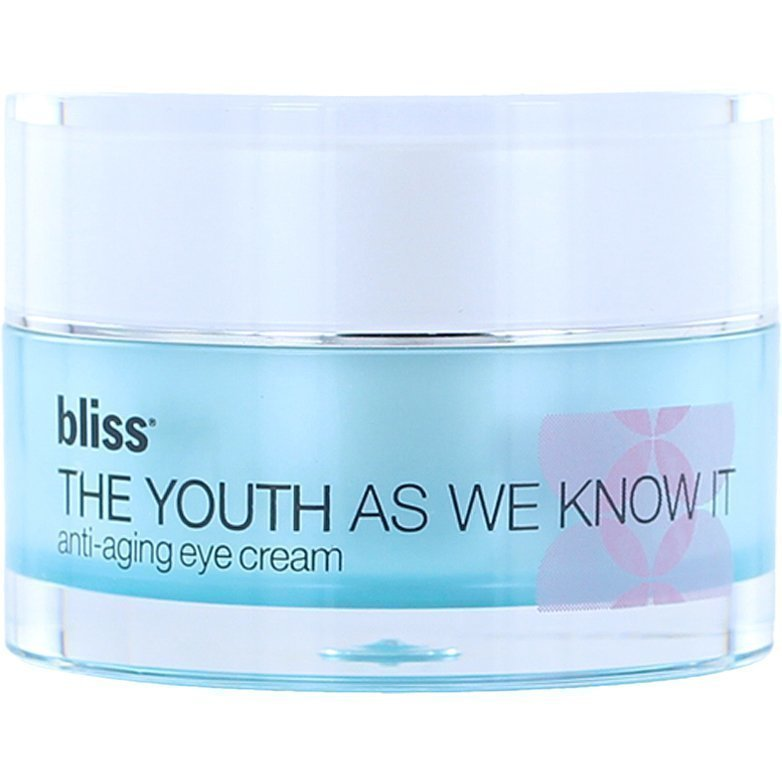 Bliss The Youth As We Know ItAging Eye Cream 15ml