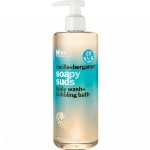 Bliss Vanilla / Bergamot Soapy Suds Suihkugeeli