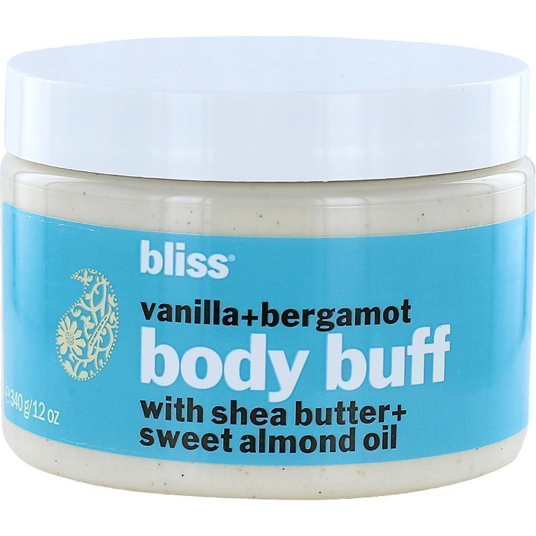 Bliss Vanilla+Bergamont Body Buff 340g