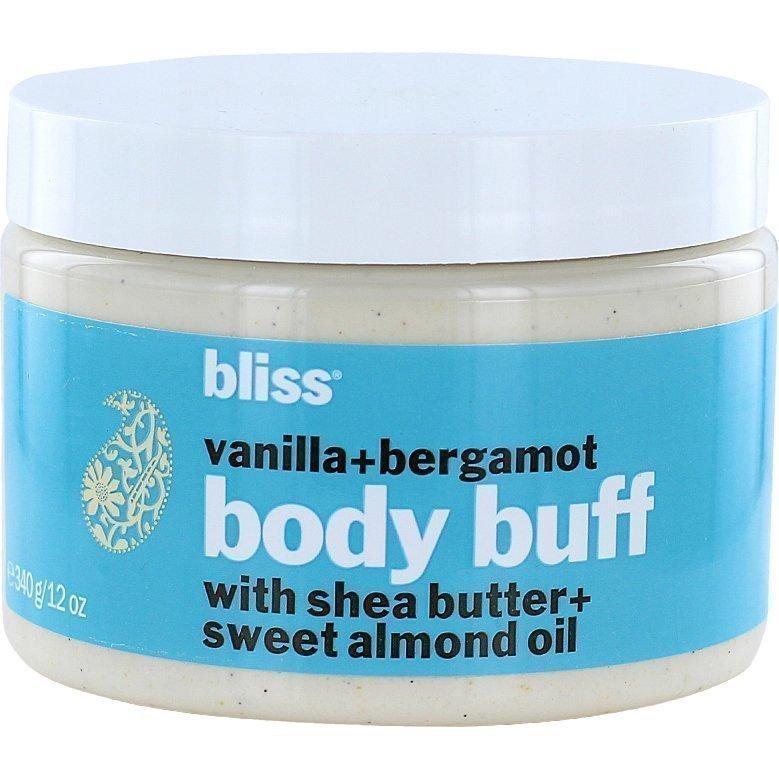 Bliss Vanilla+Bergamont Body Buff 340g