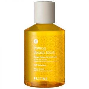 Blithe Energy Yellow Citrus And Honey Patting Splash Mask 200 Ml