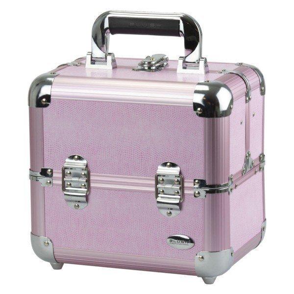Blush Professional Pink Aluminium Meikkilaukku