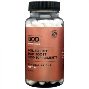 Bod Konjac Root Body Boost Food Supplements 90 Capsules