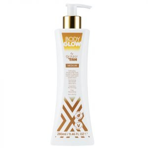 Body Glow By Skinny Tan Medium Lotion 280 Ml