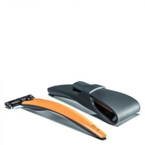 Bolin Webb R1-S Razor With Case Signal Orange