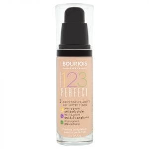 Bourjois 123 Perfect Foundation 30 Ml Various Shades Beige Clair