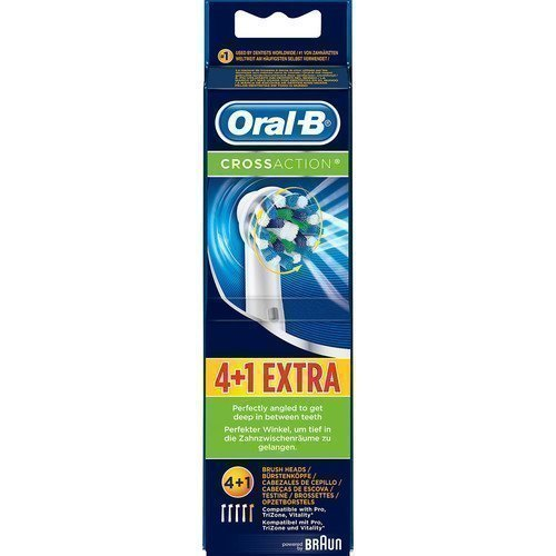 Braun Oral-B Precision Clean Brush Heads 4+1