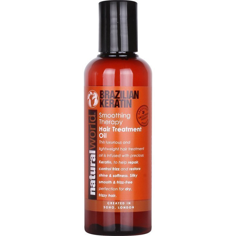 Brazilian Keratin Smoothing Therapy Hair Treatment Oil 100ml