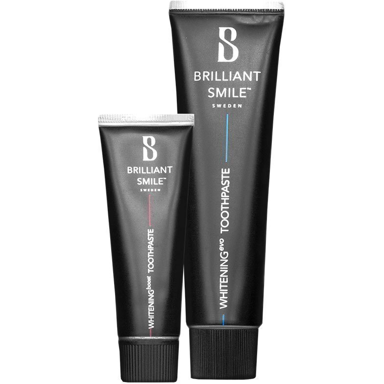 Brilliant Smile Brilliant Smile Duo Toothpaste 65ml Toothpaste 20ml