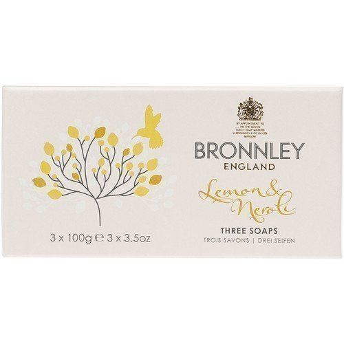 Bronnley Lemon & Neroli Three Soaps