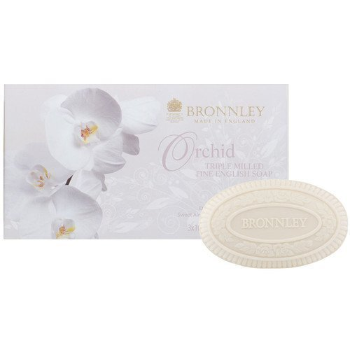 Bronnley Orchid Triple Milled Soap