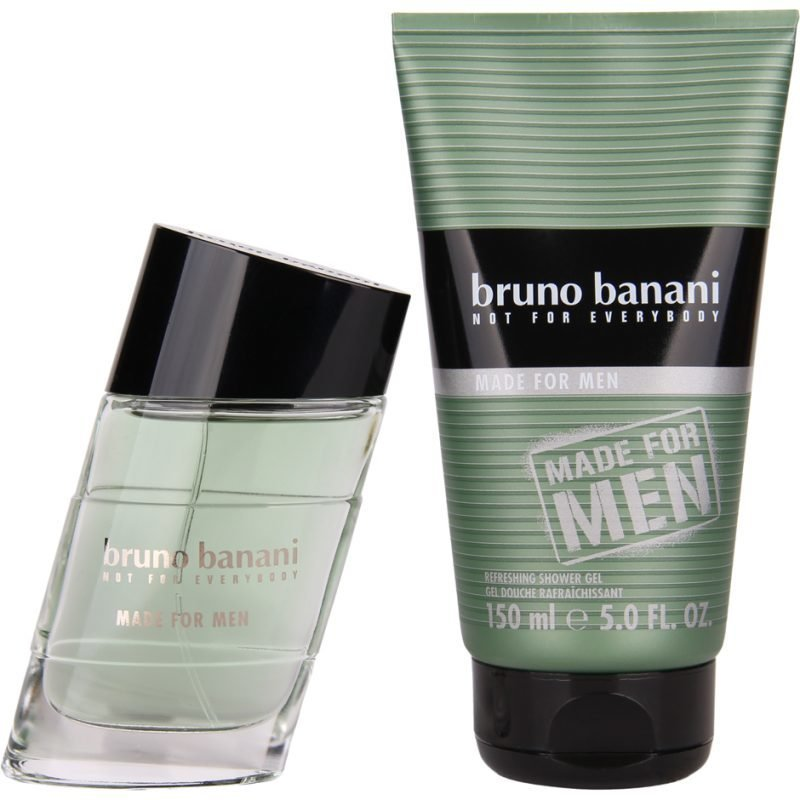 Bruno Banani Made for Men EdT 50ml Shower Gel 150ml
