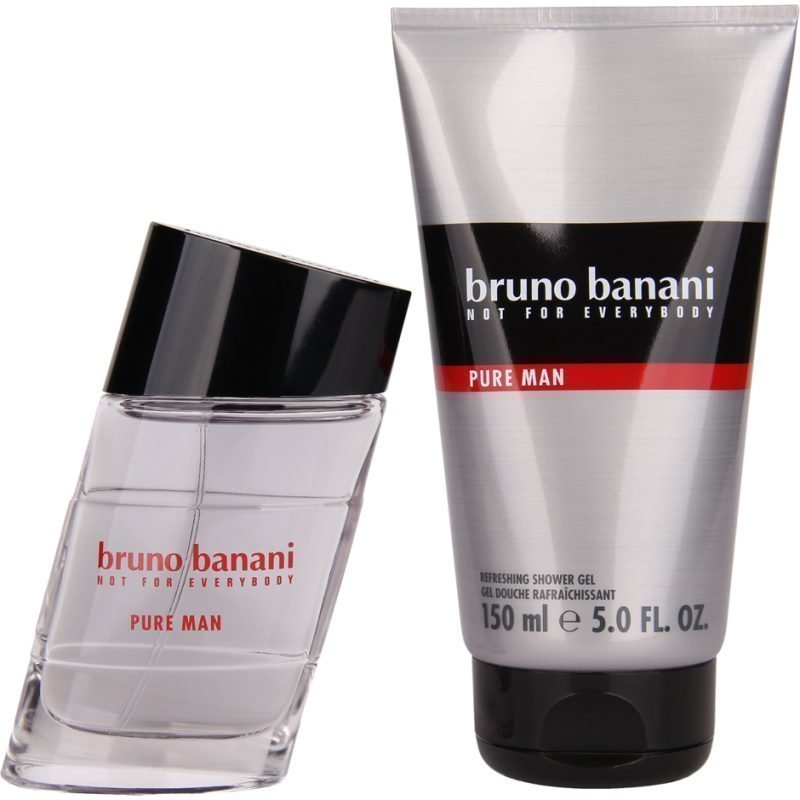Bruno Banani Pure Man EdT 50ml Shower Gel 150ml