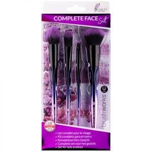 Brushworks Hd Complete Face Brush Set