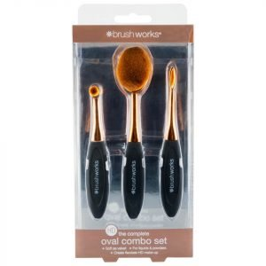 Brushworks Hd Oval Brushes Combo Set