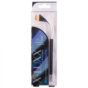 Brushworks X-Luxx #3 Tapered Oval Brush