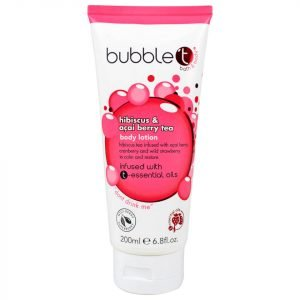 Bubble T Hibiscus And Acai Berry Tea Body Lotion 200 Ml