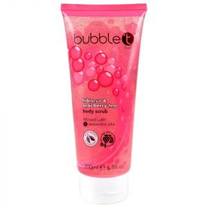 Bubble T Hibiscus And Acai Berry Tea Body Scrub 200 Ml