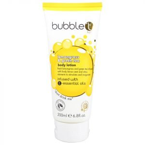 Bubble T Lemongrass And Green Tea Body Lotion 200 Ml