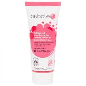 Bubble T Shower Gel Hibiscus & Acai Berry Tea 200 Ml