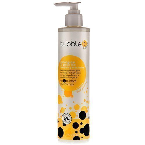BubbleT Lemongrass & Green Tea Stimulating Body Lotion