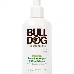 Bulldog Beard Shampoo and Conditi Valkoinen