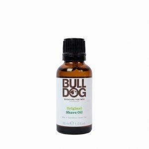 Bulldog Orginal Shaving Oil Valkoinen