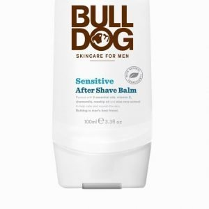Bulldog Sensitive After Shave Balm Valkoinen